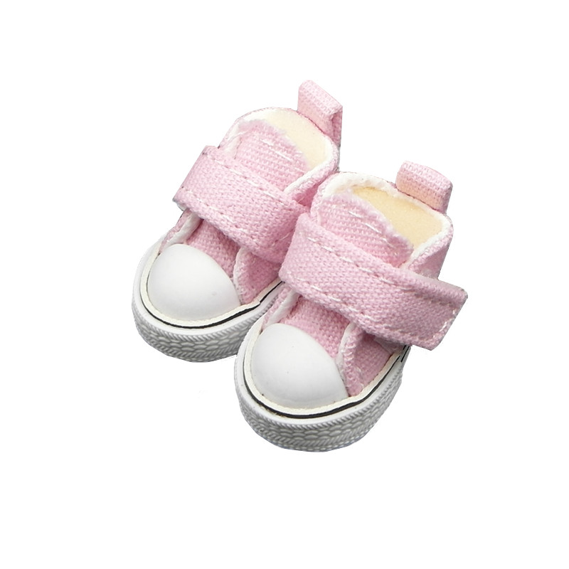Tilda 3.5cm Mini Doll Shoes For Blythe Doll,Mini Toy Doll 1/6,Canvas Sneakers Casual Shoes for BJD Doll,High Quality One Pair handmade chinese ancient doll tang beauty princess pingyang 1 6 bjd dolls 12 jointed doll toy for girl christmas gift brinquedo