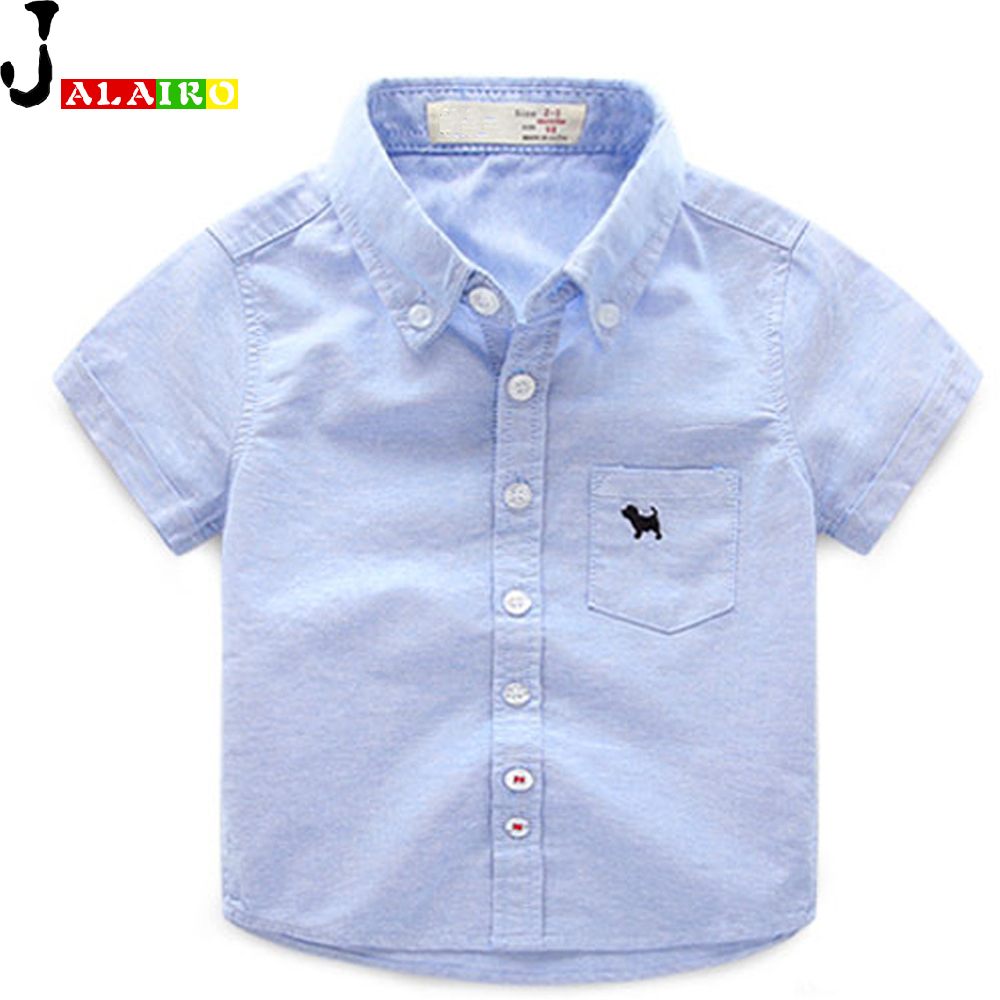 Buy 2016 baby boys shirts white pink blue for Boys short sleeve t shirts