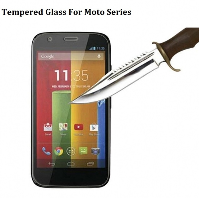 2016 Anti Explosion Tempered Glass For Motorola Moto X X2 E E2 G G2 G3 X Style X Play Nexus6 Screen Protector Case