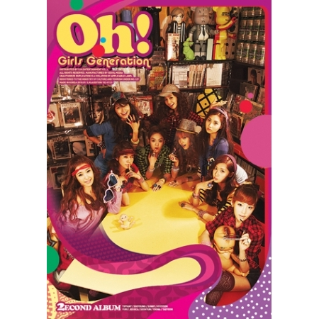 GIRLS GENERATION SNSD 2ND ALBUM VOL 2 OH + 1 RANDOM PHOTOCARD KPOP la mer collections lmsoho1010