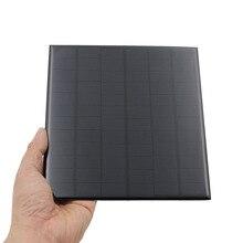 4,2 Вт 18 в солнечная панель портативный мини Sunpower DIY модуль панели системы для солнечной лампы 12 В Аккумуляторы для игрушек телефон зарядное устройство солнечных батарей