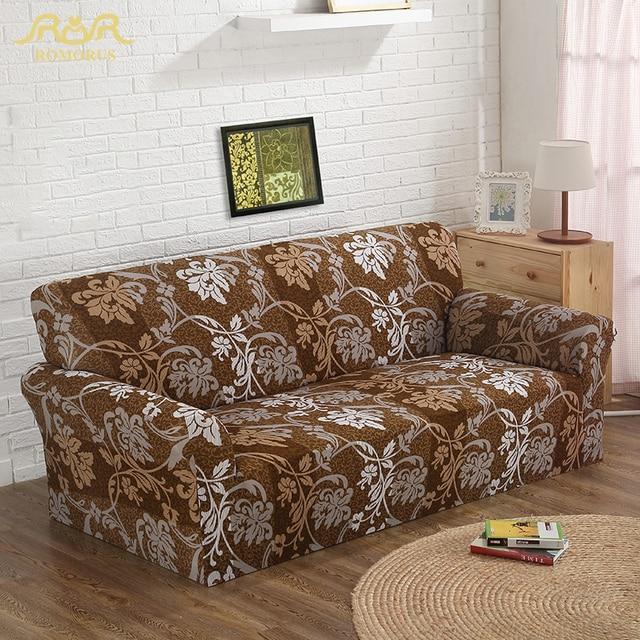 Elastic Wrap All Inclusive Sofa Cover Slip Resistant Single Two Three