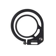 MINIFOCUS 98 ~ 67mm 레드 플립 어댑터 클램프 다이빙 필터/보정 돔 포트 렌즈/수중 카메라 하우징 용 매크로 렌즈