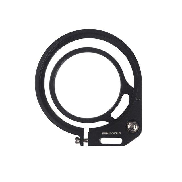 MINIFOCUS 98 için 67mm kırmızı Flip adaptörü kelepçe dalış filtresi/düzeltme Dome Port Lens/makro Lens sualtı kamera muhafazası