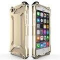 À prova de choque case para iphone 5 5s se 6 originais s 6 além de metal case de alumínio capa para iphone 5 6 plus anti-knock caixas de metal