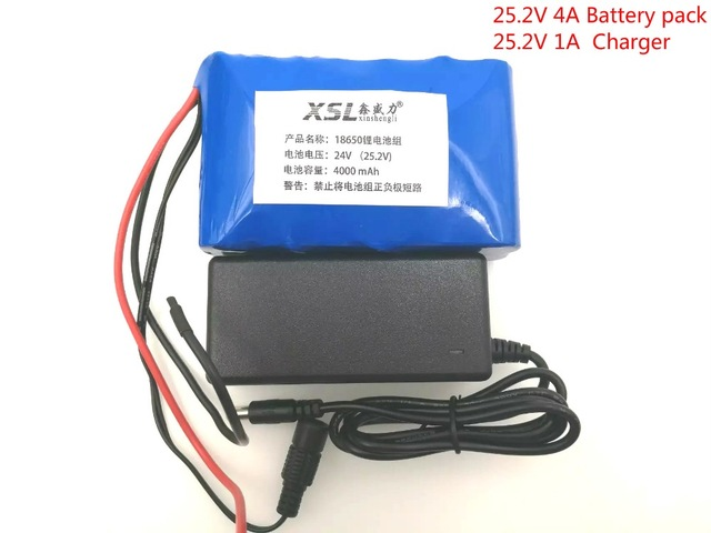 24 4 ah 6S2P 18650 battery lithium battery on the electric bicycle moped 25.2 / electric / lithium ion battery package free shop