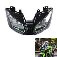 Мотоцикл Фары для автомобиля фар Глава свет лампы в сборе для Kawasaki Ninja 300 2013 2014 2015 2016 Versys 650 1000 2015 2016