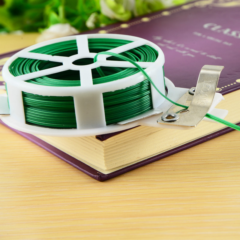 30 meters /roll metal cable ties / wire finishing cable tiess/ garden tools garden tie wire electrical wire green брусилов д большая военная энциклопедия оружие и военная техника