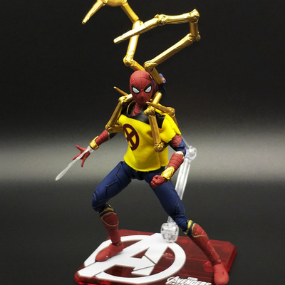 SHF S.H.Figuarts Marvel Avengers Infinity War Spiderman Iron Spider-Man:HomecominPVC Action Figure Collectible Model Toy image
