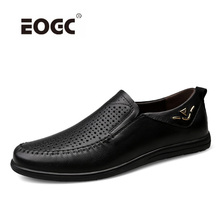Handmade Genuine Leather Men Flats Shoes, Driving Soft Leather Men Shoes Plus Size Loafers Men Moccasins Zapatos Hombre genuine leather casual shoes men handmade plus size men flats shoes classic lace up autumn classic men shoes zapatos hombre