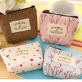 Women's Lady Small Canvas Purse Zip Wallet Coin Key Holder Case Bag Handbag