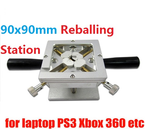 90x90mm PS3 Reballing & Dual Direction Position with Handles Support for bga repair BGA Reballing Station Jig промышленная машина china brand bga 90 x 90 90x90mm reballing station