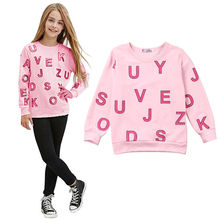 Toddler Baby Boys Girls Cotton Kids Casual T-Shirt Long Sleeve Pullover Tee Tops