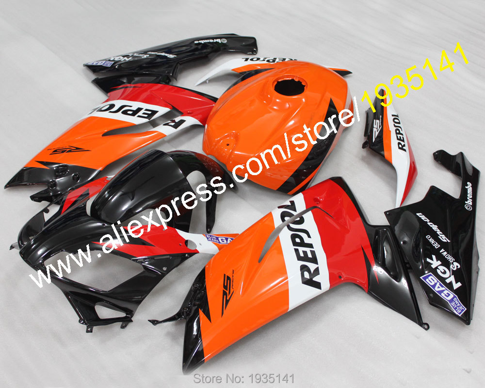 Hot Sales,Cowling kit For Aprilia fairings RS125 more color 2007-2011 RS 125 07 08 09 10 11 Bodywork parts (Injection molding)