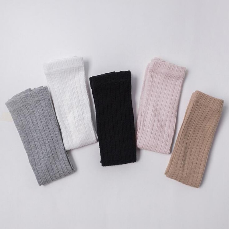 89307b23cb 2018 New Mini Dressing Baby Tights Pantyhose Long Tube Girls Warm Tights  Toddler Cute Soft Cotton Kids Stocking High Knee Socks-in Tights   Stockings  from ...