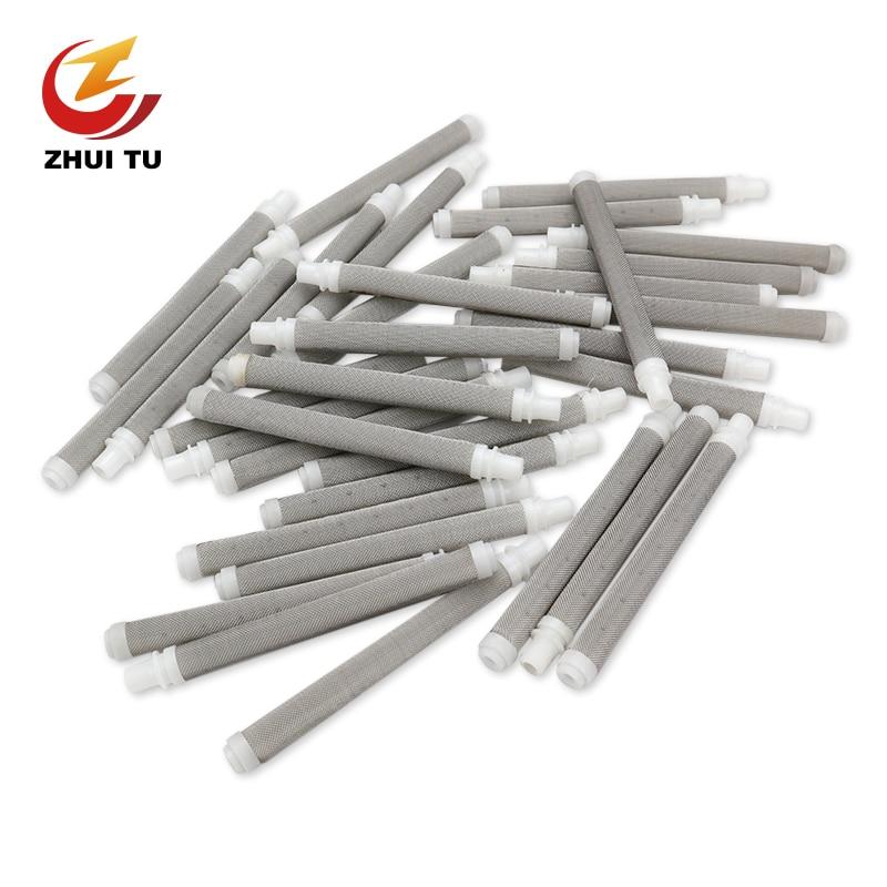 Repair Tools (10 Pieces) Airless Spray Gun Filter 60 Mesh Airless Spray Machine Accessories Gun Filter For Various Models(China)