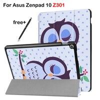 Case For Asus Zenpad 10 Z301 Tri Fold Protective Case For Asus 10 1 Tablet Z301MLF