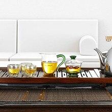 220 В 0.9л 1200 Вт твердый деревянный поднос для час Интеллектуальный чайный набор для подогрева Автоматическое вращение добавить электрический чайник для воды 410x865 мм