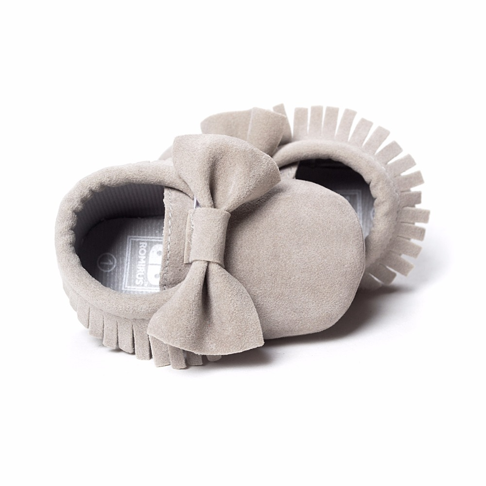 Hot-Sale-Baby-Shoes-PU-leather-Solid-tassel-Frosted-Butterfly-knot-Newborns-Moccasins-toddler-infant-Girl-Boy-First-Walker-3