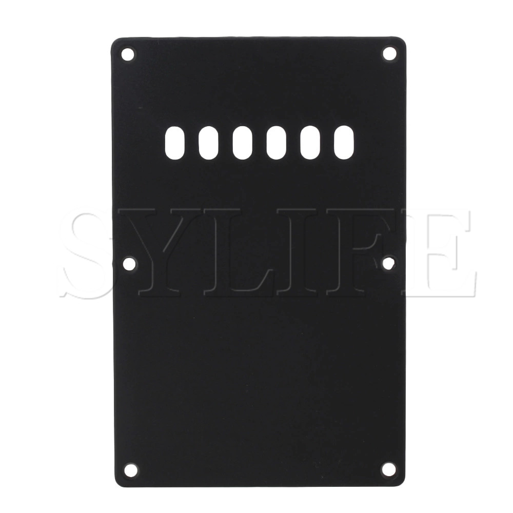 Black BACK PLATE Cavity Cover Plate For Electric Guitar