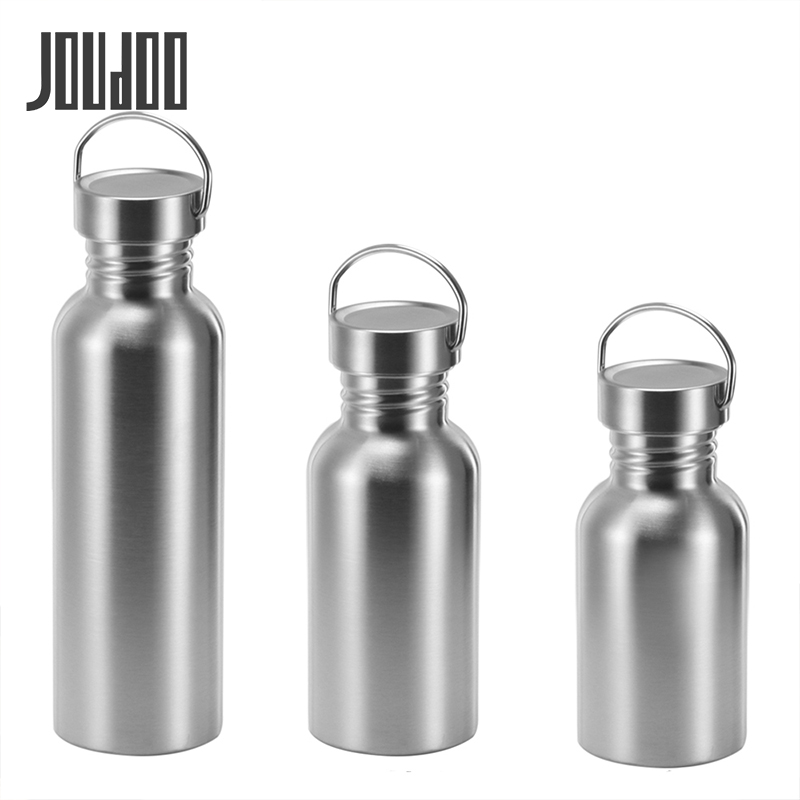 JOUDOO Leak-Proof Food Jar Flask Stainless Steel Water Bottle Lid Sports For Travel Yoga Cycling Hiking Camping 350/500/750ml 35