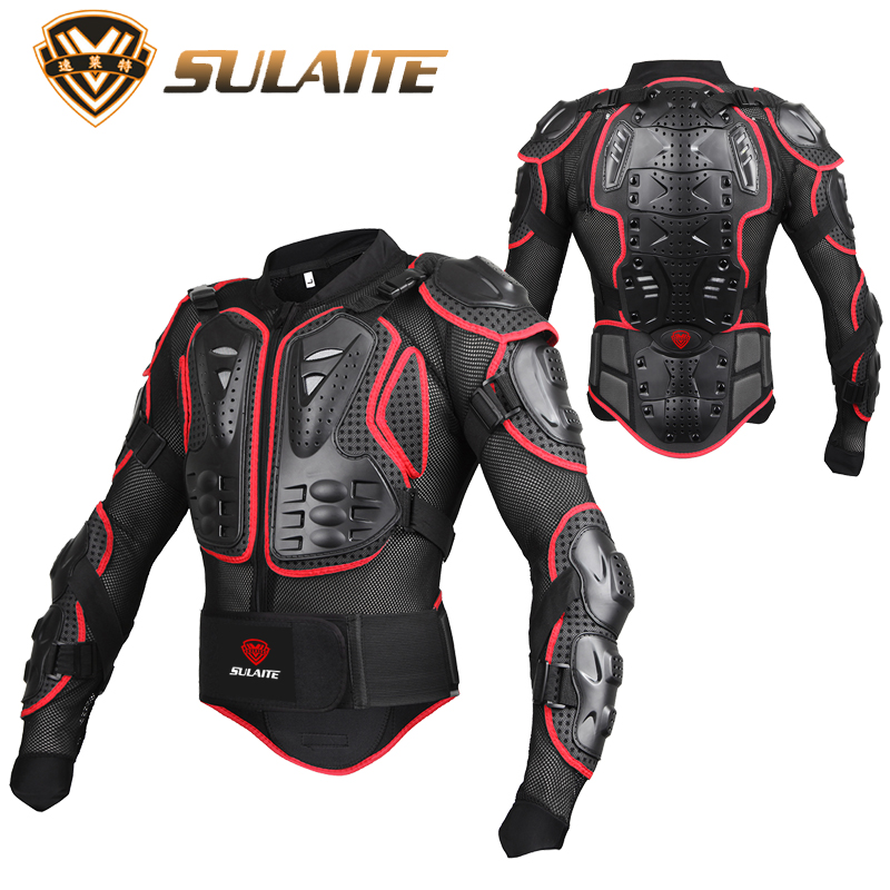 Motorcycle full body Armor jacket men elbow shoulder chest back pad protector Protection Protective Gear Clothing