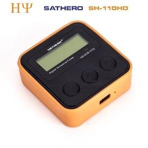 Image 2 - Originele Sathero SH 110HD DVB T2 Lcd scherm Pocket Digitale Aardse Finder Ondersteuning QPSK DVB T2 beter Satlink ws 6905 ws 6915