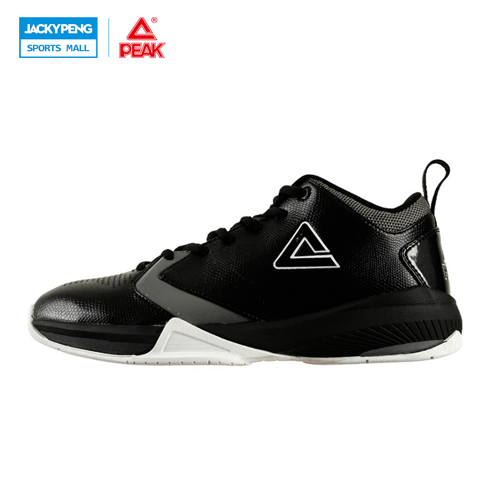 PEAK SPORT Men Basketball Shoes REVOLVE Tech Breathable Comfortable Ankle Boots Non-Slip Athletic Training Sneakers EUR 40-47 peak sport star series george hill gh3 men basketball shoes athletic cushion 3 non marking tech sneakers eur 40 50