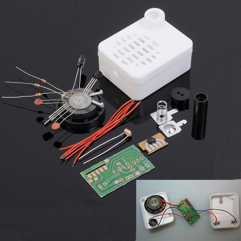Welcome Guest Greeting Sensor Switch DIY Kit Automatic Light Control Greeting Machine Ki ...