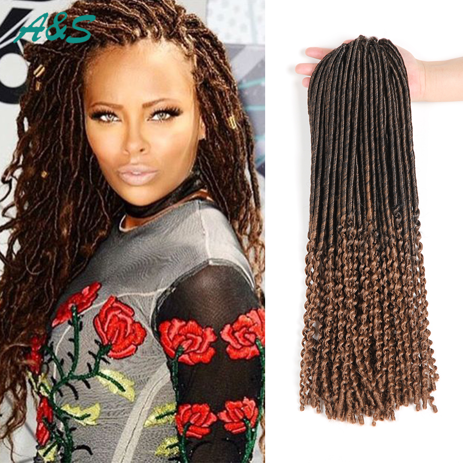 Top Beauty Loose End Faux Locs Crochet Hair Crochet Braids