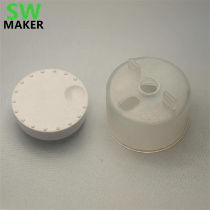 SWMAKER UM2 3D Printer parts 1244 Knob Front UM2 1245 Knob Housing UM2 kit for Ultimaker