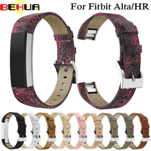 Genuine Leather Bracelet Wrist Band Watch Strap For Fitbit Alta HR / Fitness Tracker Watchbands Replacement High Quality