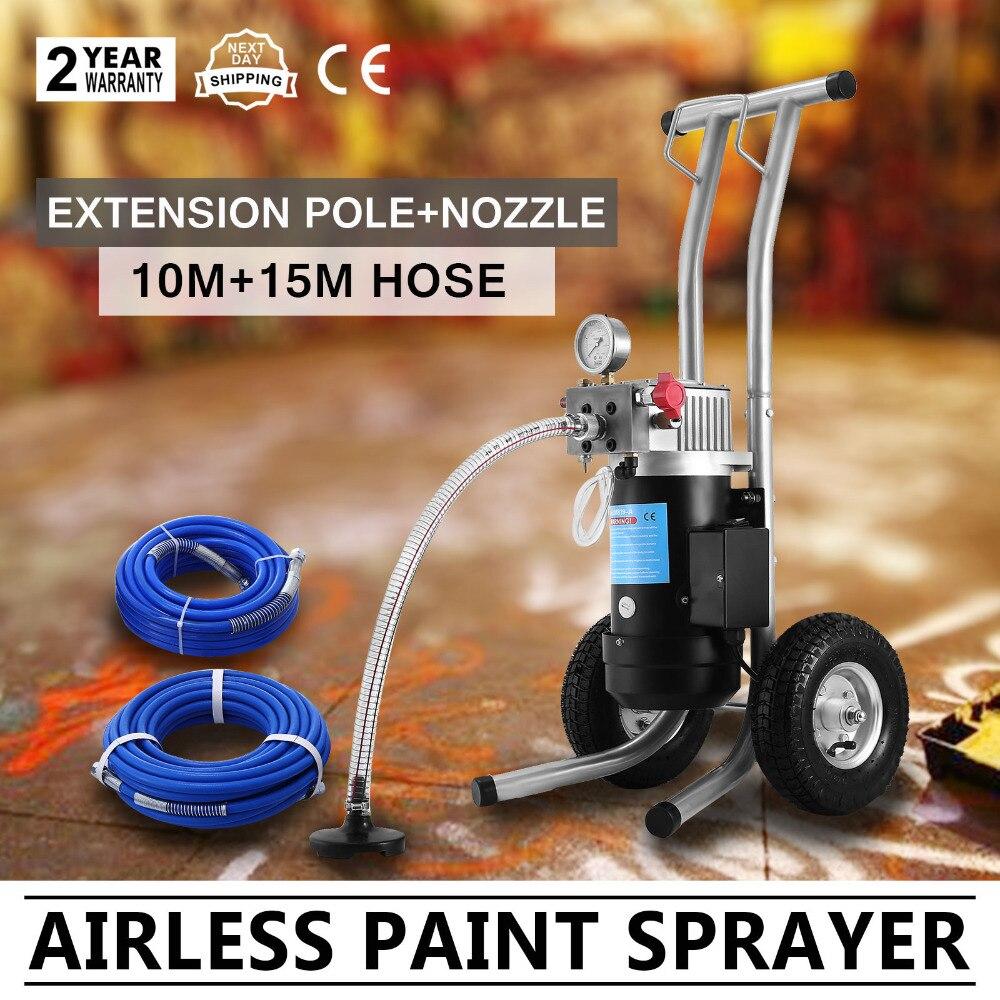 Tout nouveau pulvérisateur de peinture sans air 2350 W électrique de qualité supérieure avec CE