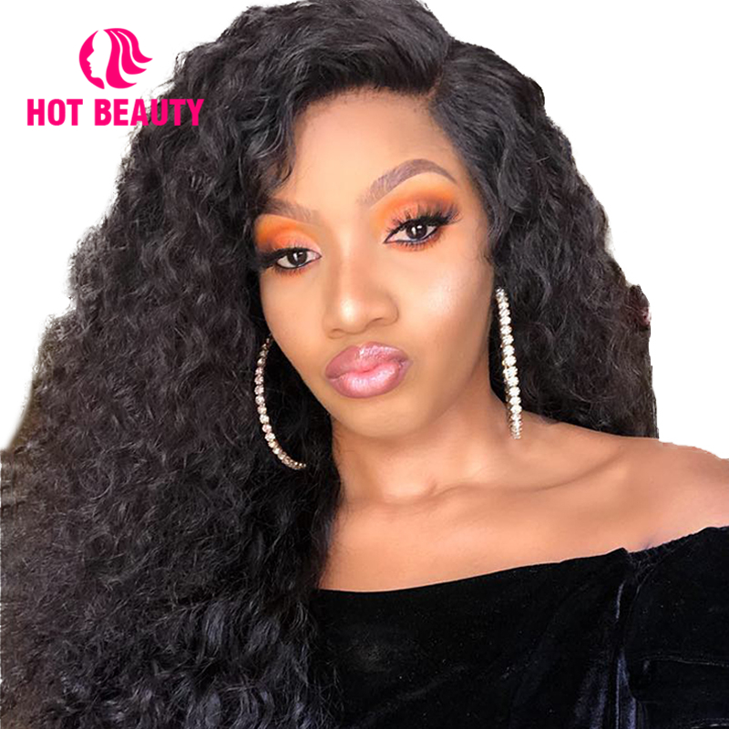 Hot Beauty Hair Lace Front Human Hair Wigs With Baby Hair Brazilian