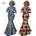 Африканская Женская Одежда С Длинным Рукавом Dress Вечер Sexy Dress Платья Партии Mermaid Dress Рождественский Подарок Плюс Размер 6XL BRW WY556
