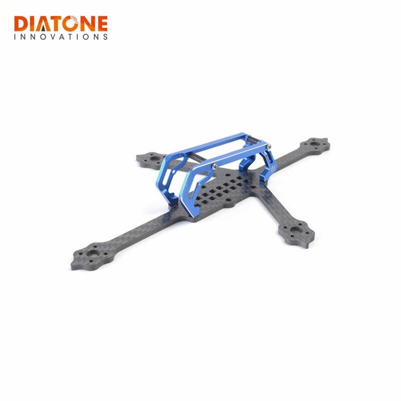 все цены на Diatone 2018 GT-M3 110mm / 170mm Normal Plus 3mm Arm Frame Kit For RC Drone Models DIY Multicopter Toy Green Blue/Green/Titanium