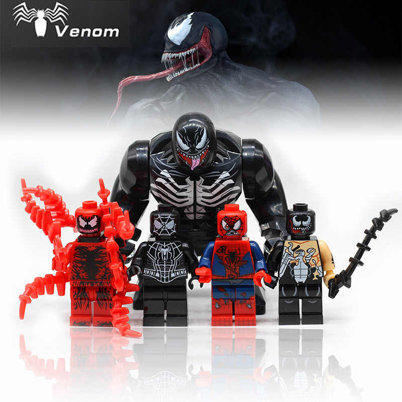 legoingly Marvel Super Heroes Avengers 4 Big Venom Large Green Hulk Thing Building Block Figures Toys For Children wy30