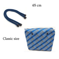 High Quality Classic Insert Interior Inner Lining Zipper Pocket With One Pair Handles For Obag Classic