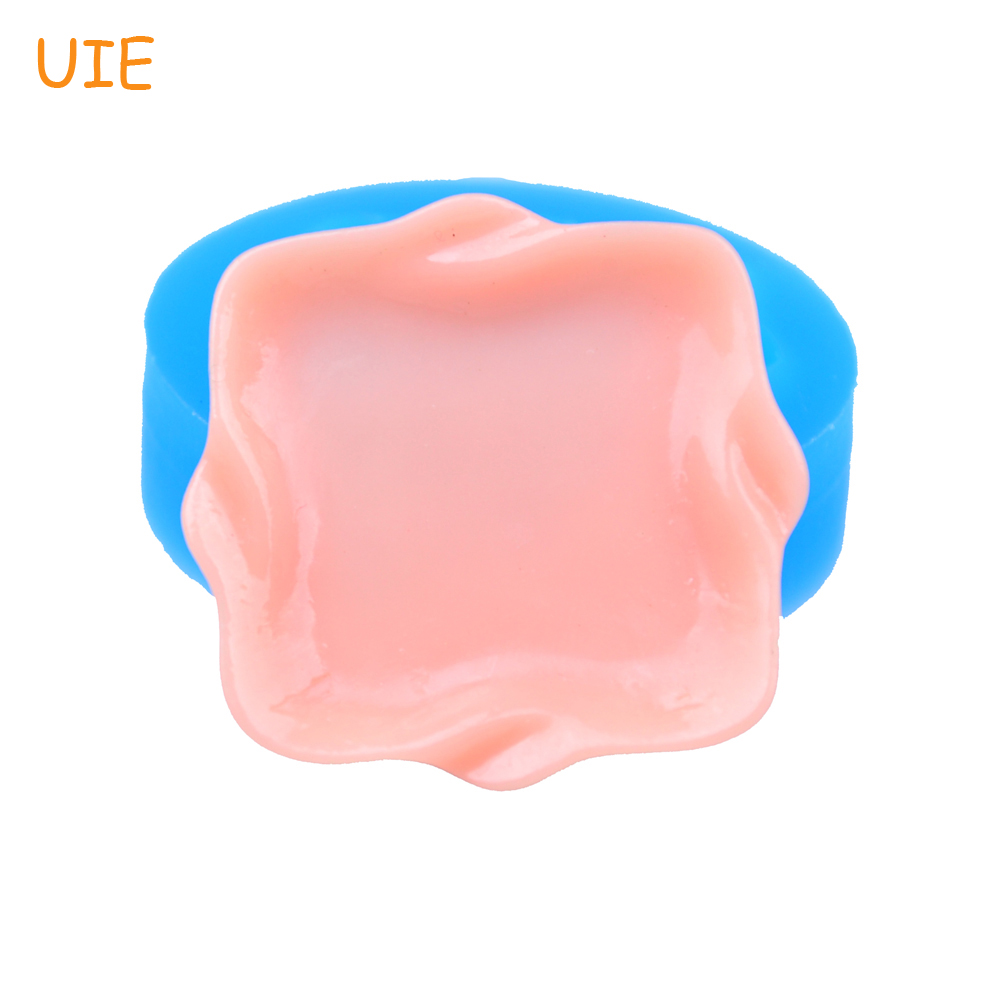 PYL556U 27.6mm Serving Tray Silicone Mold - Plate Mold Cake Decorating Cookie Biscuit Resin Chocolate, Polymer Clay Candle Mold ...