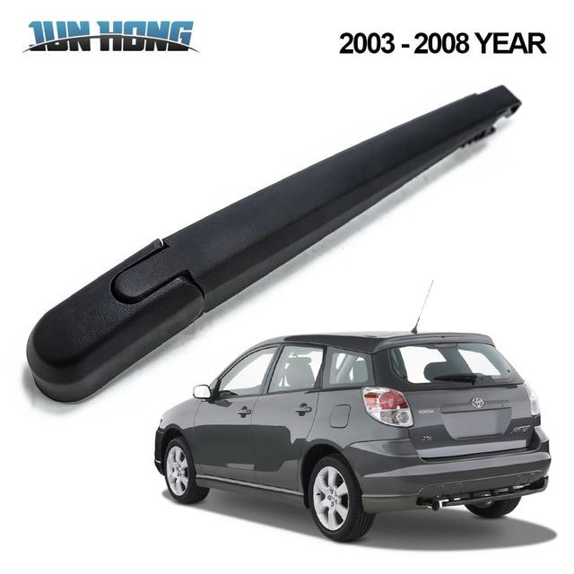 Junhong Rear Rain Window Windshield Wiper Blade For Toyota Matrix 2003 2008 Rubber Window Windscreen Car Accessories In Windscreen Wipers From