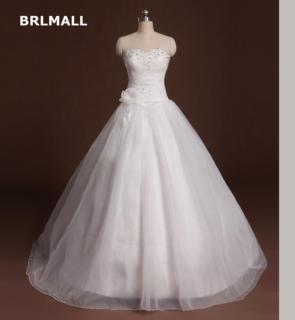 Bodice Wedding Gown: 2017 Wedding Dress Vintage Beading Sweetheart Crystal