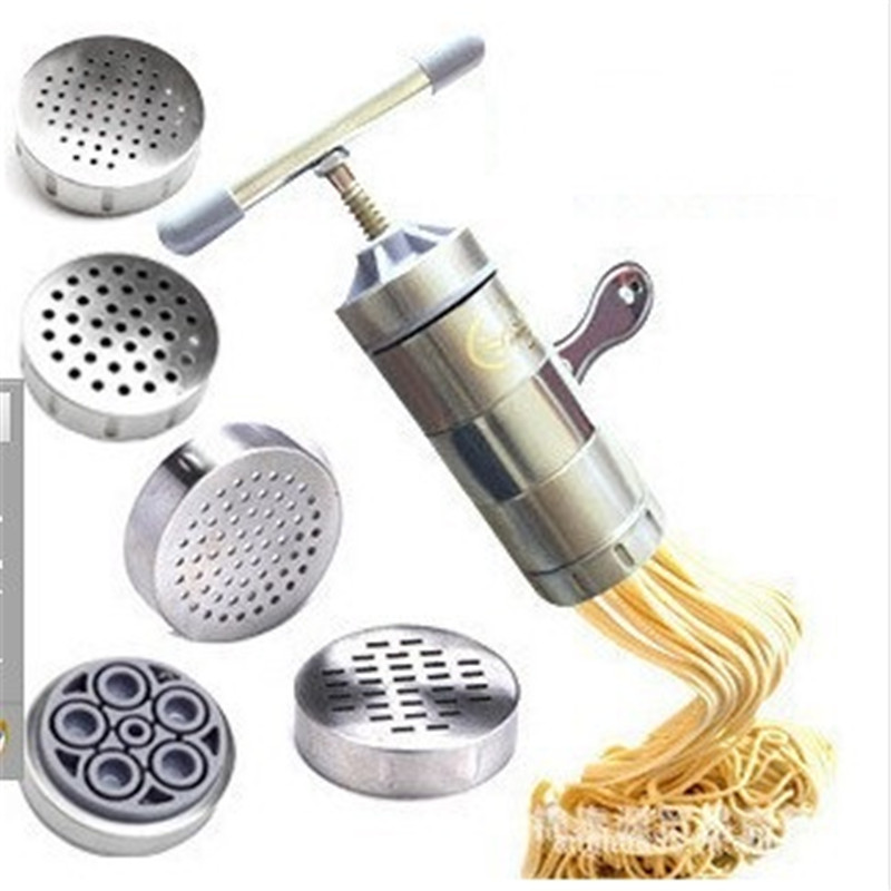 DUOLVQI Manual Noodle Maker Kitchen Pasta Spaghetti Press pates Machine Vegetable Fruit Juicer Pressing Machine Baking Tools ...