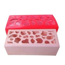 5 шт., коробка для макаронов, для свадебной вечеринки, украшения для выпечки, коробка для шоколада и кексов, украшение для торта, упаковка для макарон