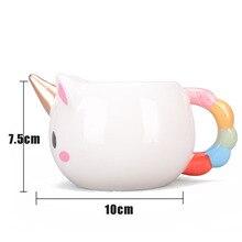3D Unicorn Ceramic Coffee Mug 300ml