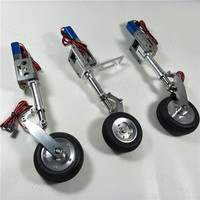 CYS R2290 High Quality Electric Retract Landing Gear With Wheel Controller Plate Brake System For RC Airplane