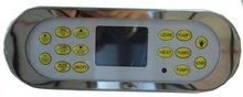 Желтый спа панели только 15 клавиши ВИНЕР AMC СЕРИИ панель управления горячая ванна & spa клавиатуры верхней панели, hotpool Китайский Верхней Части экрана