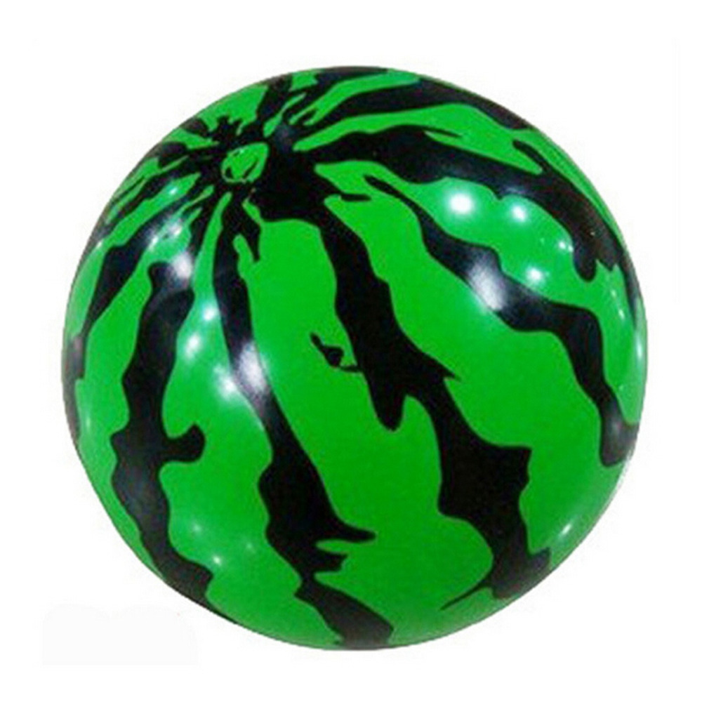 1PC Inflatable Balloon for Kids Toy Gift Plastic Watermelon Balls Toy Balls Beach Swimming Pool Funny Stress Ball 23CM