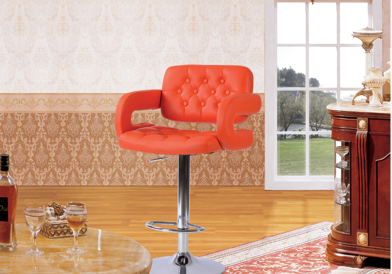Bar stuhl hause wohnzimmer stuhl orange schwarz grün ect farbe in ...