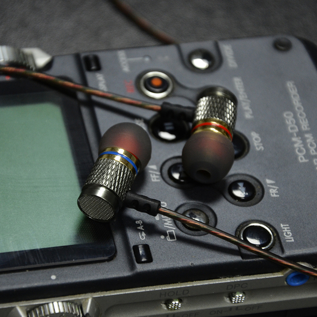 Šokujúce In-Ear slúchadlá QKZ DM6 120dB 6-31000Hz