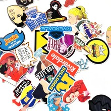 35pcs Riverdale anime fans funny decals scrapbooking diy stickers decoration phone laptop waterproof cartoon accessories